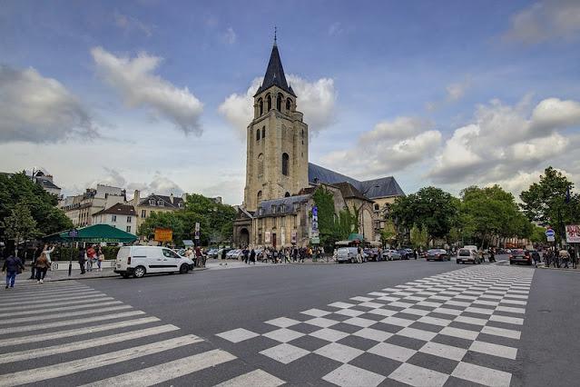 La plus vieille église de Paris : Saint Germain des prés