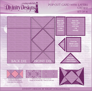 Pop-Out Card with Layers Die
