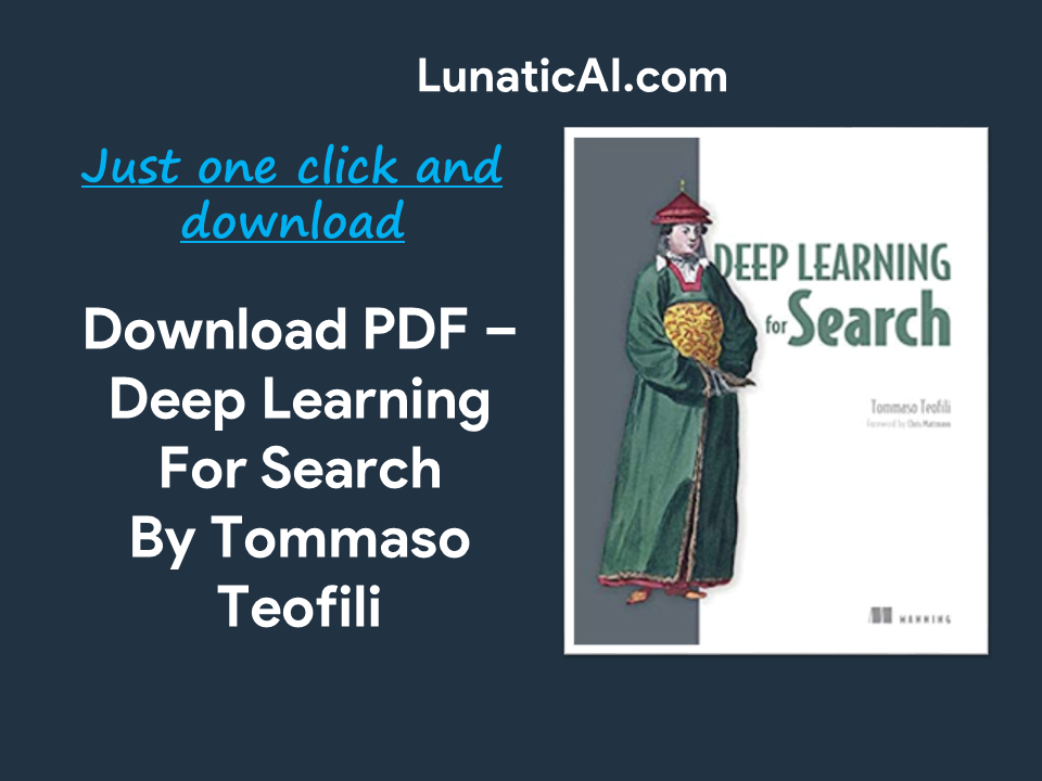 Deep Learning for Search PDF