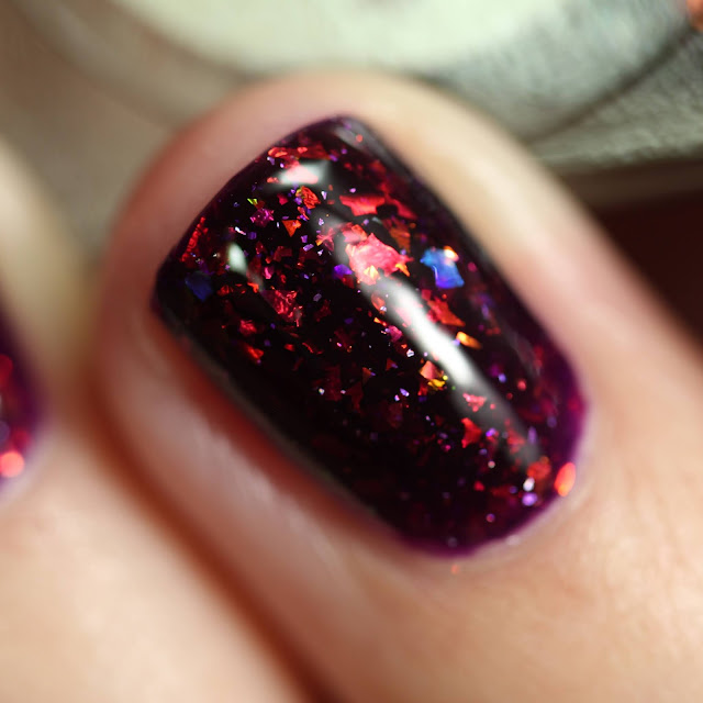 Wildflower Lacquer Soul of a Mermaid, Mouth of a Sailor swatch