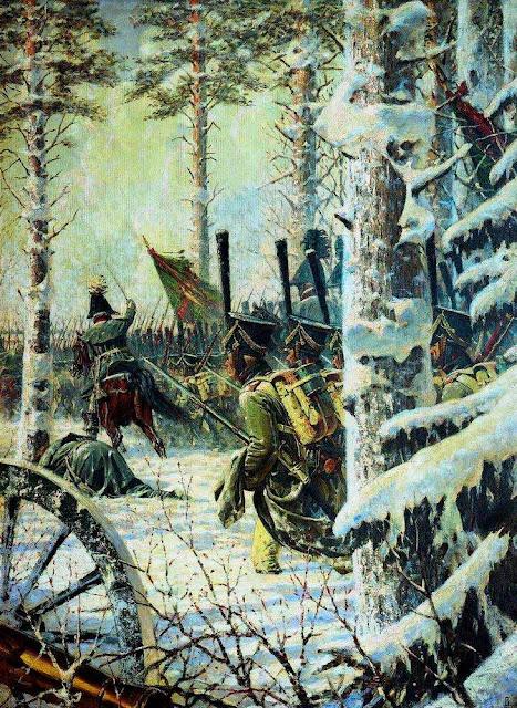 Василий Васильевич Верещагин - В штыки Ура Ура (Атака). 1887-1895