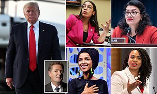 AOC and her super-woke socialist Squad may be very irritating, Mr President, but they're also as American as you and to suggest otherwise is racist : PIERS MORGAN
