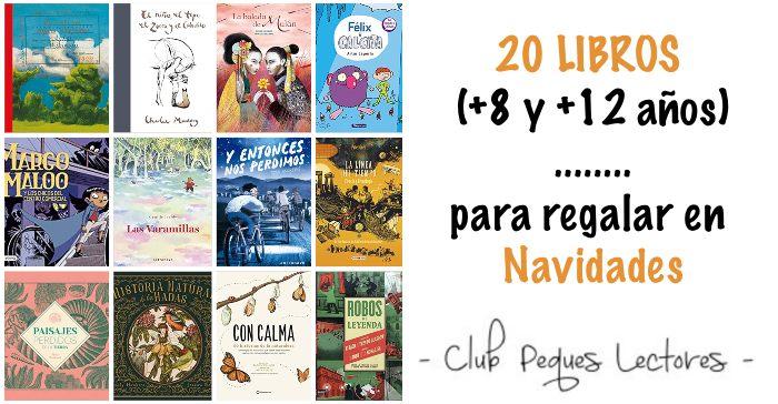 libros infantiles y juveniles +8 +12 años navidad