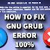How To Fix GNU Grub Error | Minimal Bash Like Line |  Phoenix OS Booting Black Screen Error [Solved]