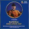 National Education Day of India Quotes Images - Maulana Abdul Kalam Azad