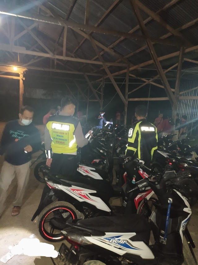 Polsek Juwana Grebek Gudang Berisi Motor dan Mobil Bodong