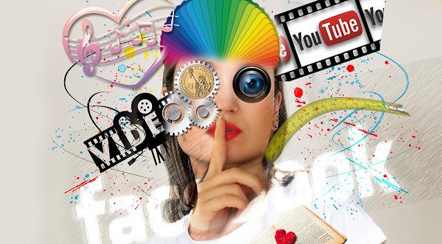 ilustrasi bisnis media sosial