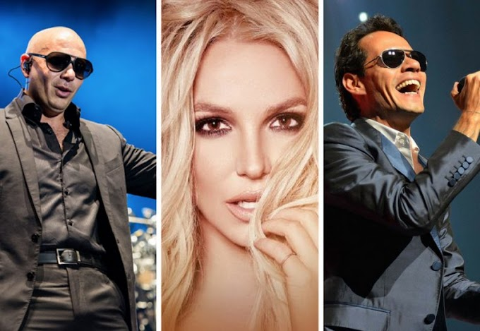 *NEW SNIPPET* Pitbull Feat. Britney Spears & Marc Anthony - I Feel So Free With You