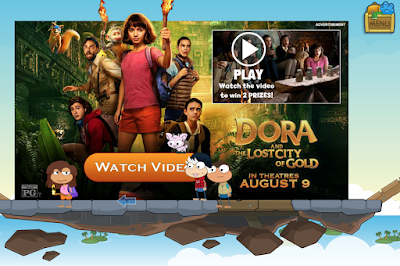 Dora the Explorer Video Poptropica