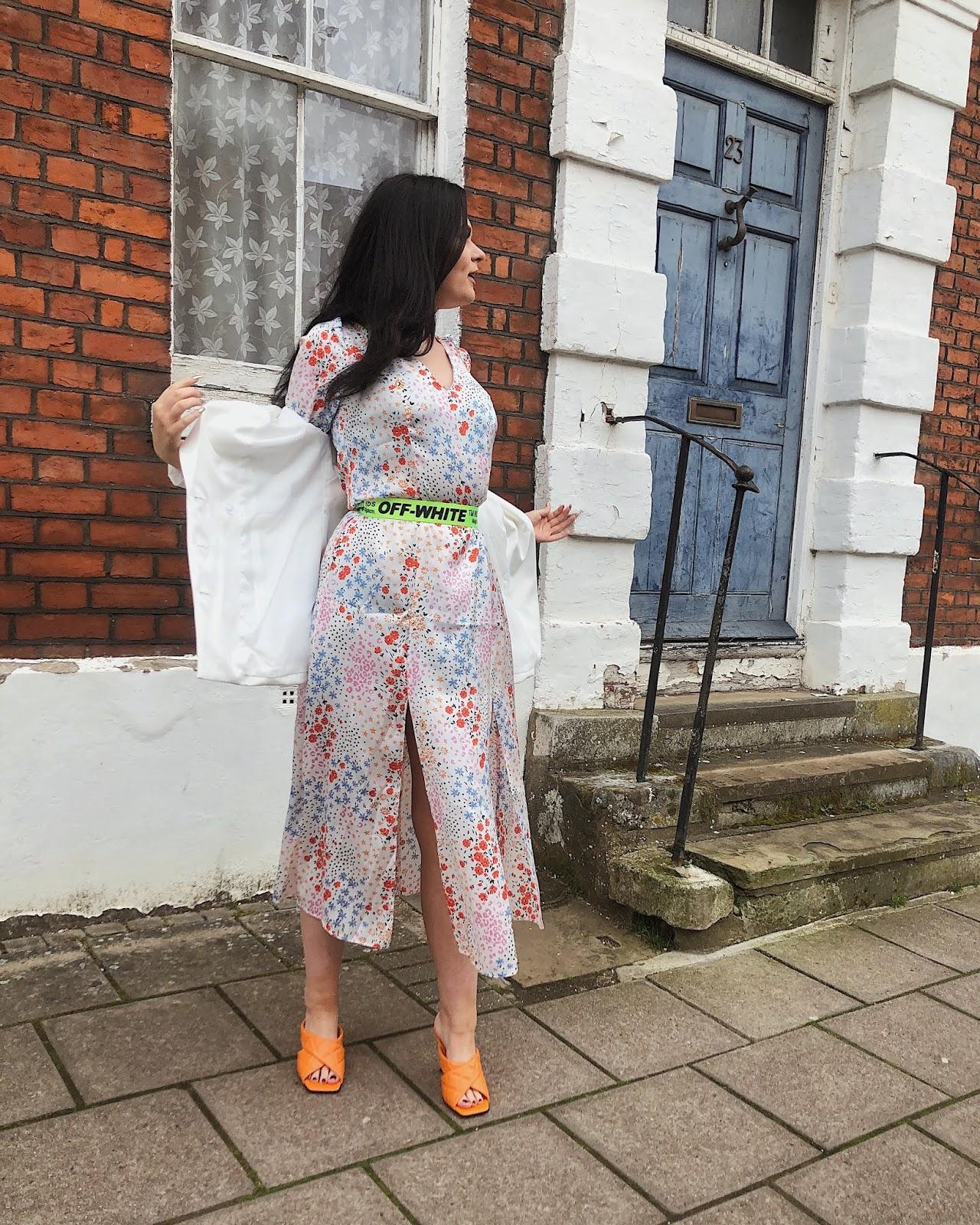asos floral dress, spring dress, best of spring dresses, womens floral maxi dress,ditsy floral dress, floral smock dress, red ditsy floral dress,