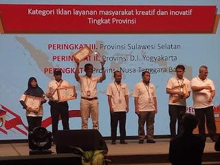 KPU NTB Raih Prestasi Nasional Penyelenggaraan Pilgub dan Pemilu 2019