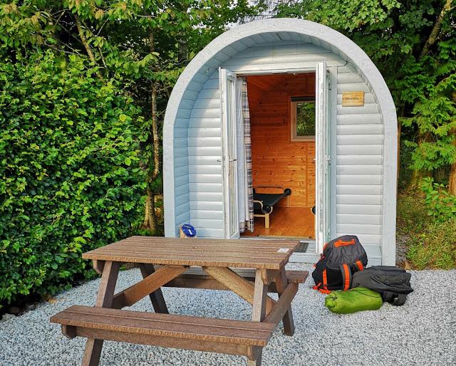 Bunroy Park camping pod - Spean Bridge Fort William