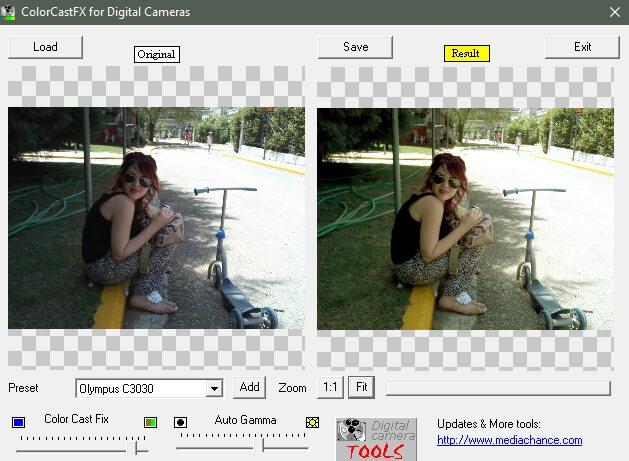 ColorCastFX - Δωρεάν λογισμικό για να διορθώσεις τα σκοτεινά τοπία από φωτογραφίες
