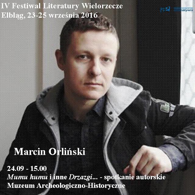 Goście Festiwalu Literatury Wielorzecze cz.2 - sobota 24.09.2016