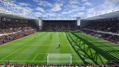 PES 2020 Stadium Tynecastle Park