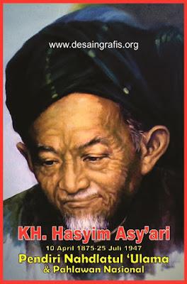 Foto KH Hasyim Asy'ari HD cdr