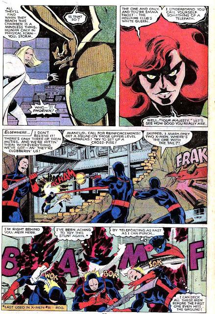 X-men v1 #131 marvel comic book page art by John Byrne