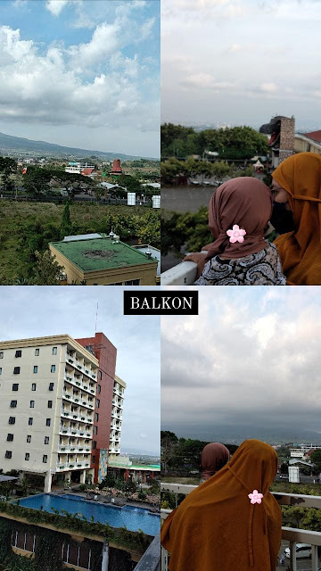 Balkon senyum world hotel