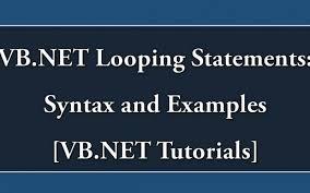 VB.NET Loops