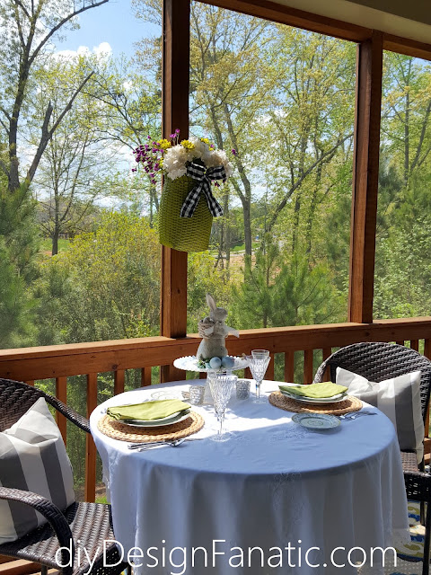 Easter, Spring, Tablescape, cottage, Cottage style,