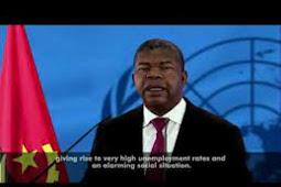 Inilah Pidato Presiden Angola, João Manuel Gonçalves Lourenço di Debat Umum PBB ke 75
