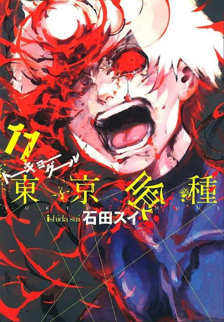 Okładka mangi Tokyo Ghoul