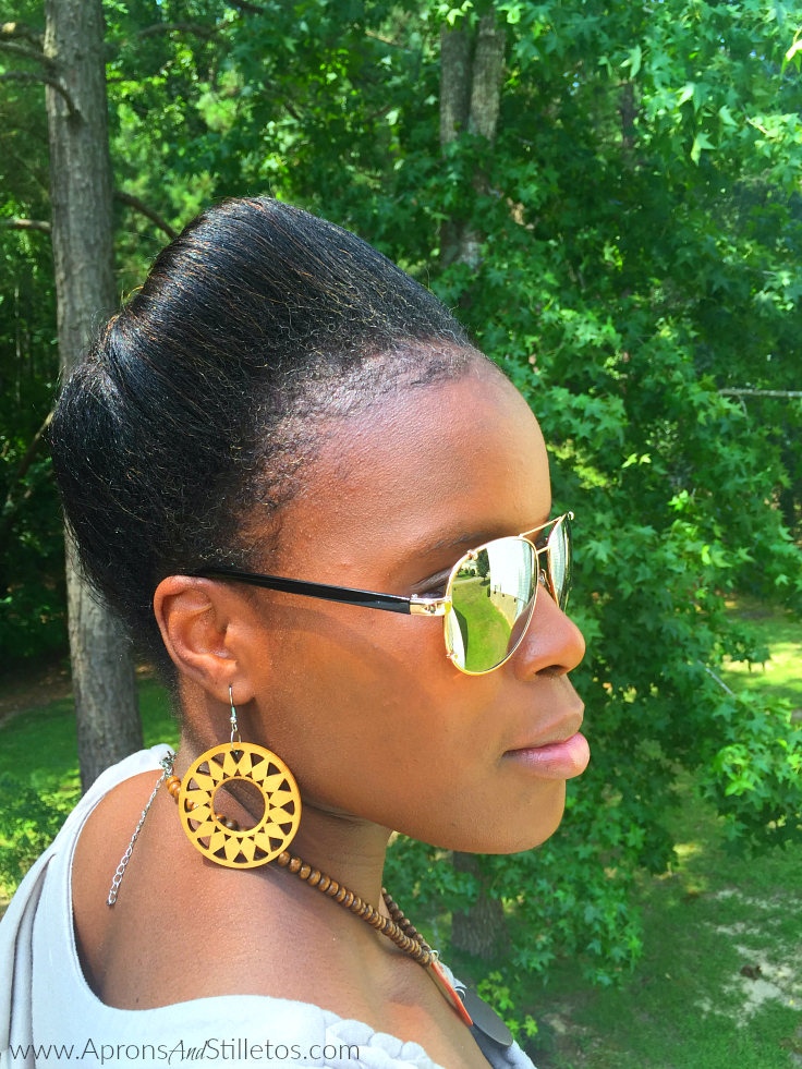 Transitioning 4C Hair, No Relaxer, Updo Protective  Style, Natural Hair, Co-Wash, Henna