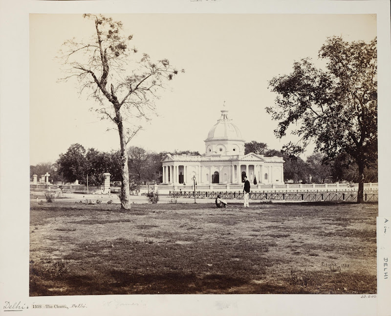 St James's Church - Delhi c1860's