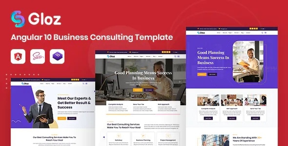 Best Business Consulting Responsive Template