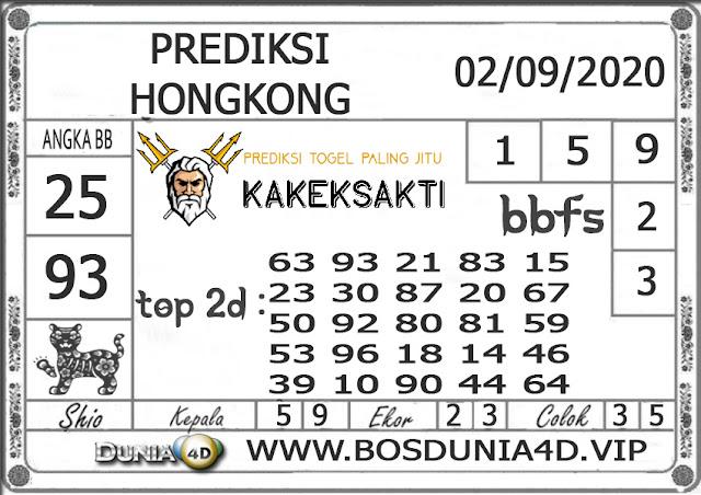 Prediksi Togel HONGKONG DUNIA4D 02 SEPTEMBER 2020