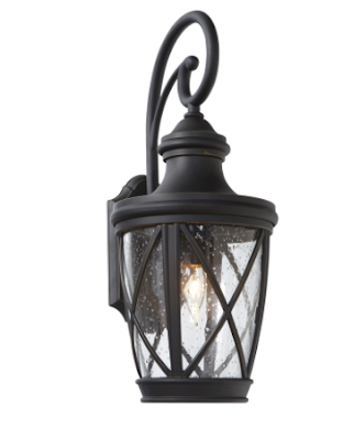 Farmhouse Porch Lighting- Allen + Roth-Castine-Lowes