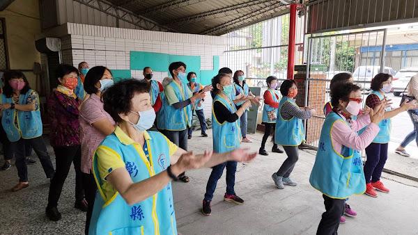 榮欣志工隊專業訓練 端午節表演排練及紙藝道具