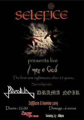 Selefice, Piranha, Drama Noir live @ Crow Live Stage