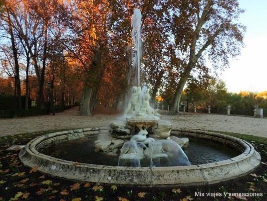 Fuente de la Boticaria, Jardín de la Isala, Aranjuez