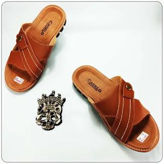Sandal imitasi kulitCs Pria ELF