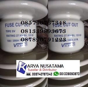 Jual Fuse Cut Out Keramik 24KV-200A Vickers di Pasuruan