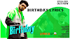 BIRTHDAY LYRICS – SUMIT GOSWAMI - Sumit Goswami Lyrics
