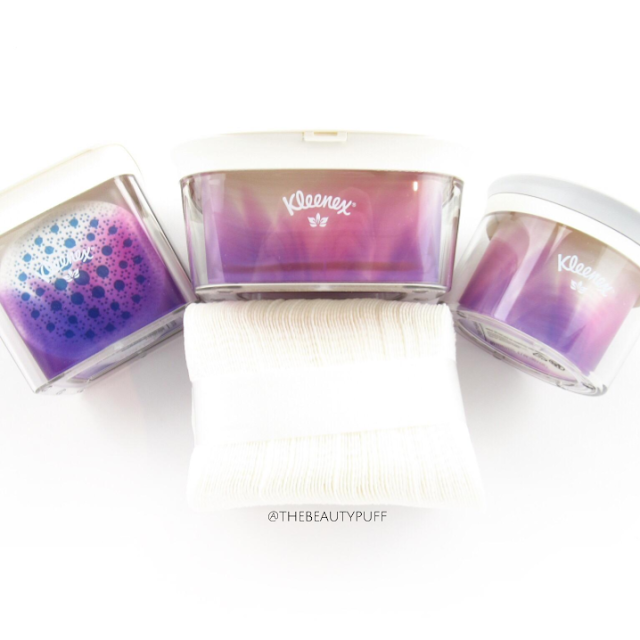 kleenex facial cleansing - the beauty puff