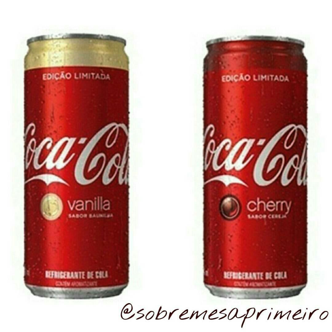 f4d2d3d7cb Coca-Cola Vanilla e Cherry