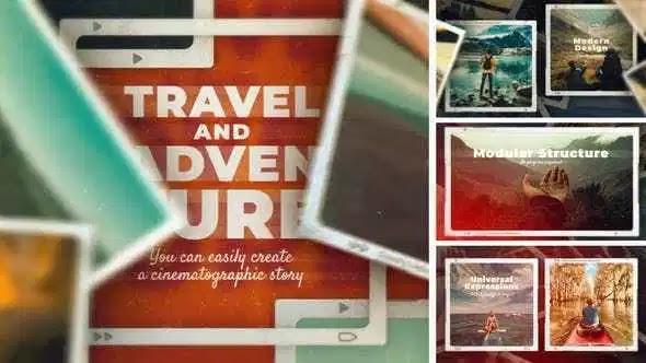 Videohive Travel And Adventure Slideshow 27835149