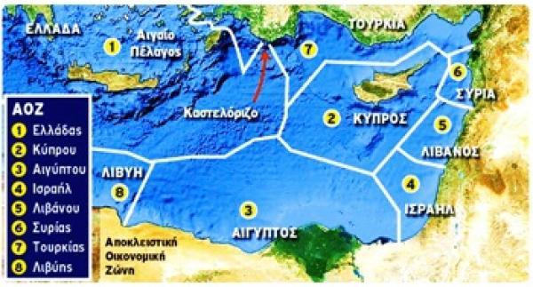 Οι Τούρκοι παραβιάζουν την Ελληνική ΑΟΖ (χάρτες).