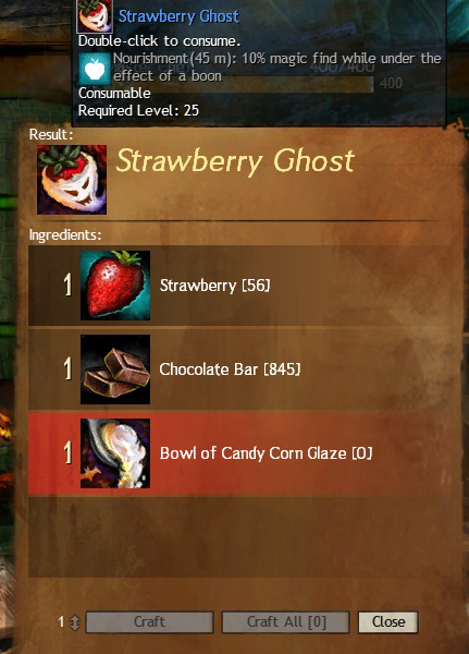 Halloween Food - Revealed   Guild Wars 2 Riches