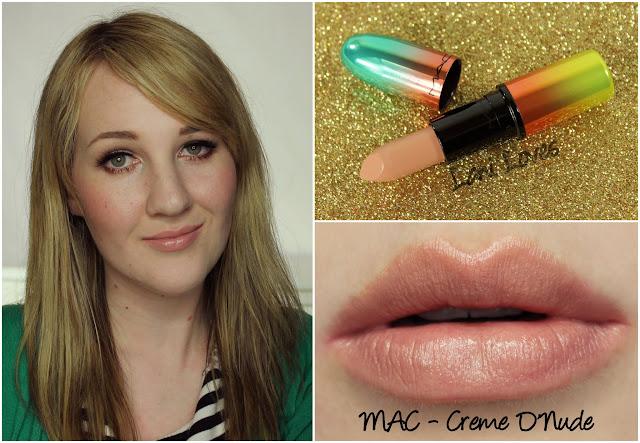 MAC Creme D'Nude lipstick swatch