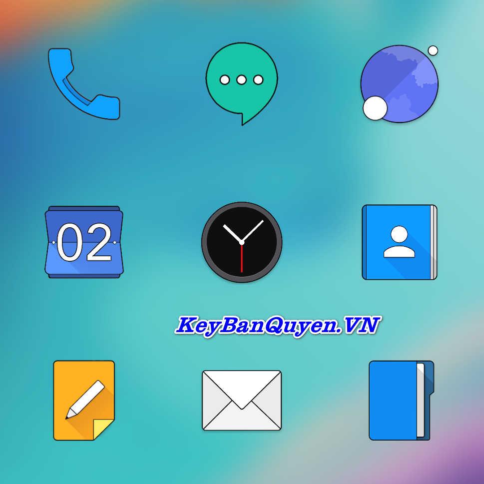 Bộ sưu tập ICON PACK đẹp nhất cho Android.