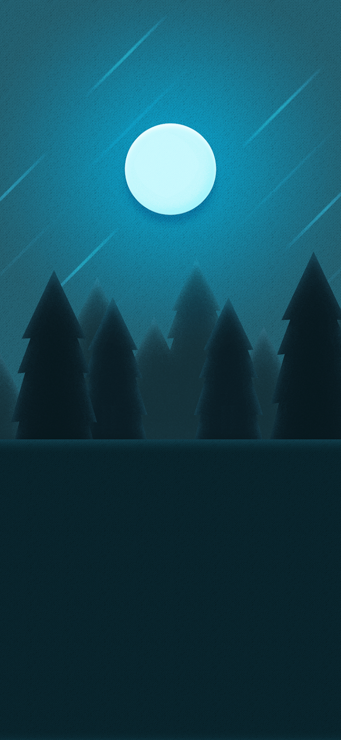 The best and beautiful wallpaper iphone hd night in the woods minimalist background