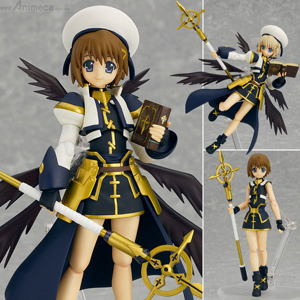 FIGURA HAYATE YAGAMI FIGMA The MOVIE 2nd A's Ver. MAGICAL GIRL LYRICAL NANOHA The MOVIE 2nd A's