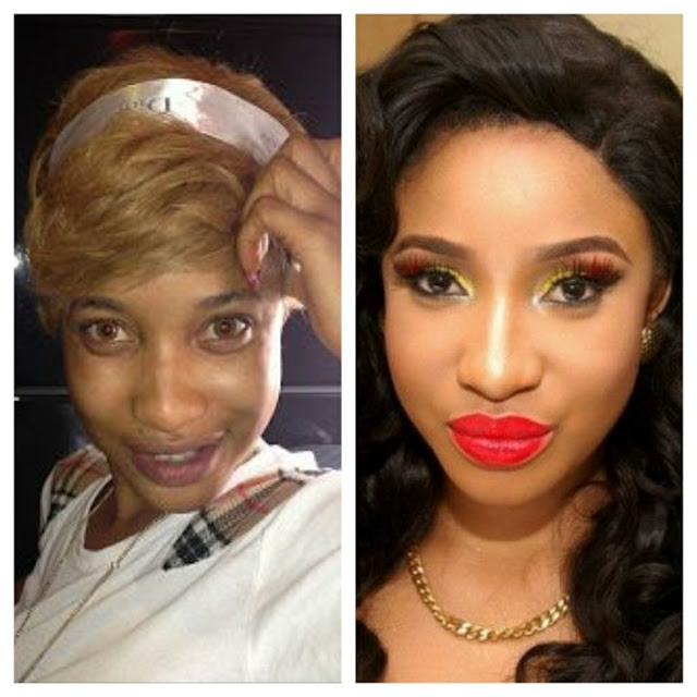 {Gist} 6 Nigerian Female Celebrities Who Would Scare You Off Without Make-up