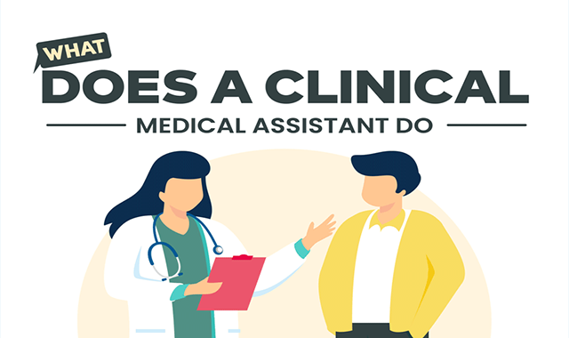 What Does a Clinical Medical Assistant Do? #infographic
