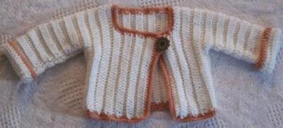 Crochet Cardigan baby free pattern