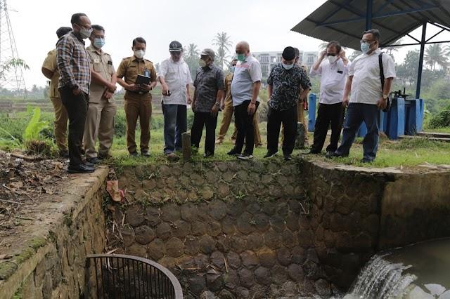 Komisi IV DPRD Jabar Dorong Alokasi Anggaran Jalur Irigasi Depok Kabupaten Bandung